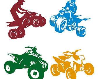 Atv clipart svg. Etsy motorcycle cuttable design