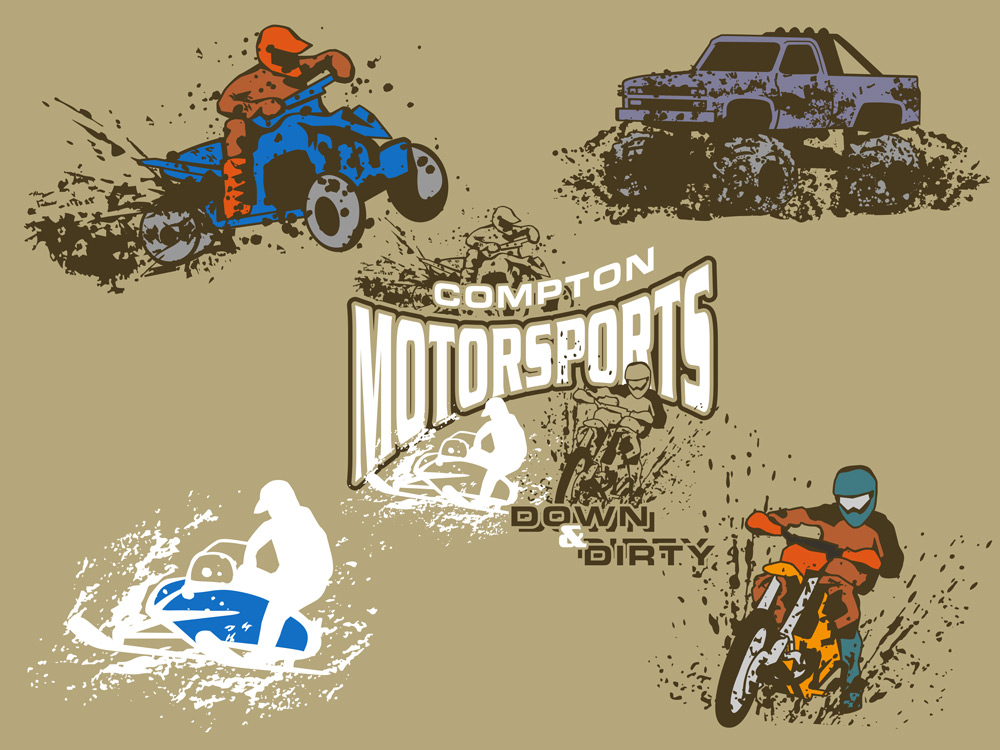Atv clipart top view. New and motorsports layout