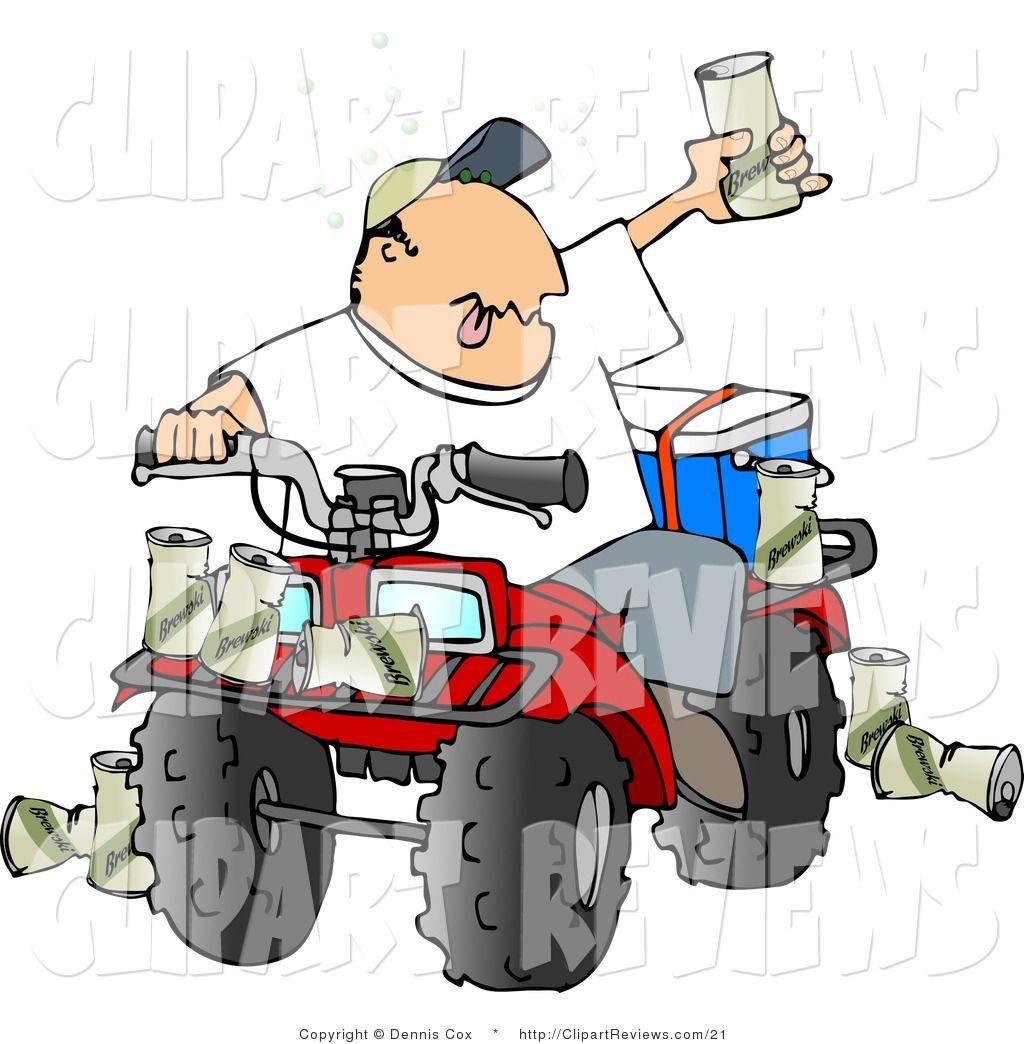 Atv clipart vector. Free all terrain vehicle
