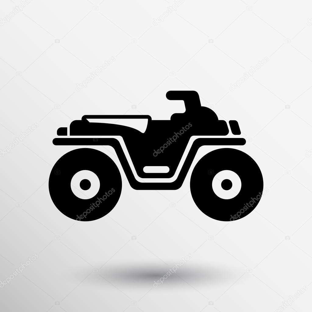 Icon free icons library. Atv clipart vector