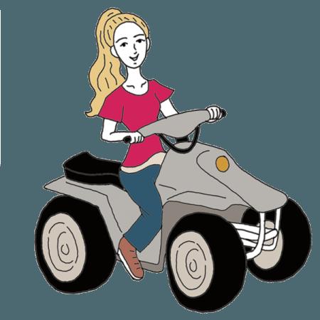 Atv clipart wheeling. Dream dictionary interpret now