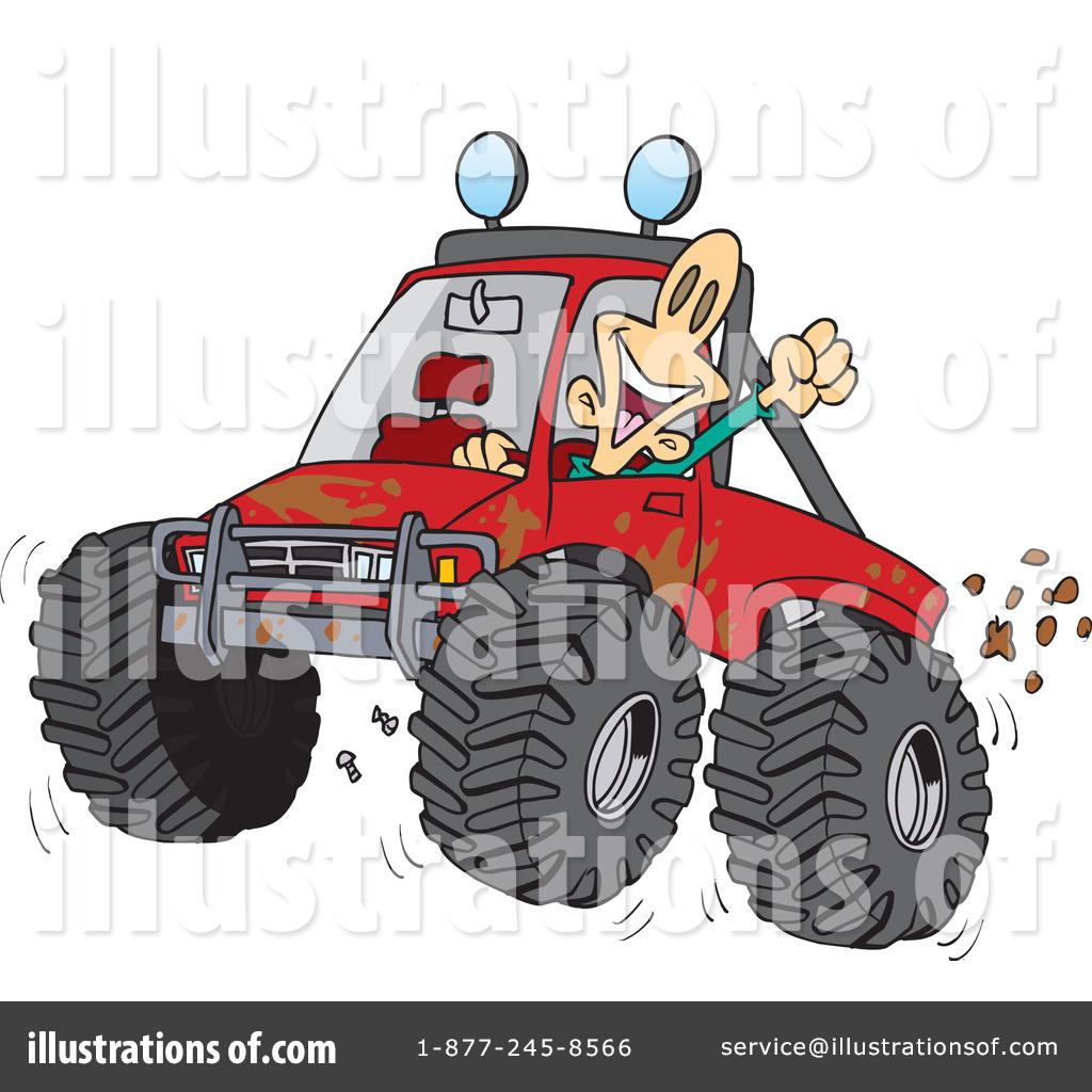Atv clipart wheeling. Four illustration by toonaday