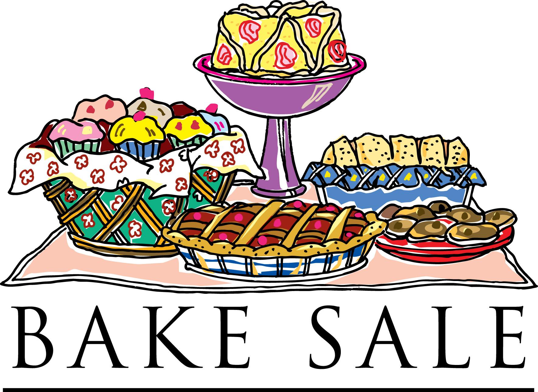 Baked goods clipart auction. Bake sale kid clipartix