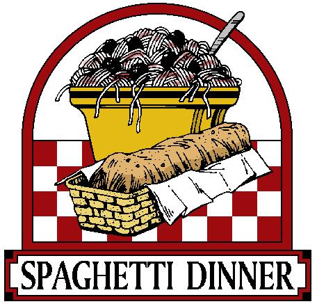 Auction clipart church. Spaghetti dinner silent christ