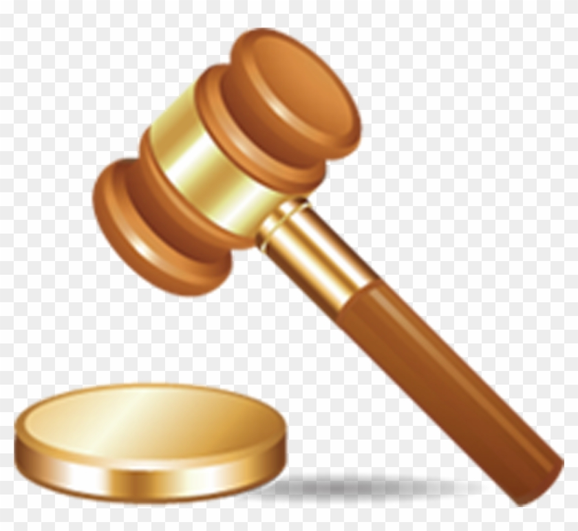 Hd png download x. Court clipart auction hammer