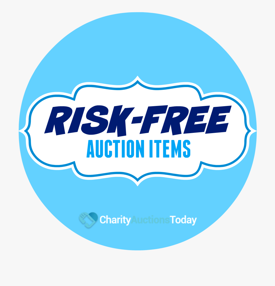 Auction clipart today. Risk free items graphic