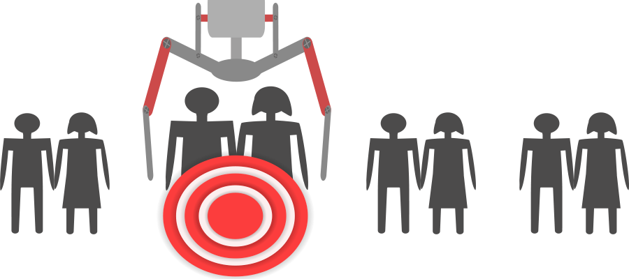 Want to gain more. Audience clipart audience target