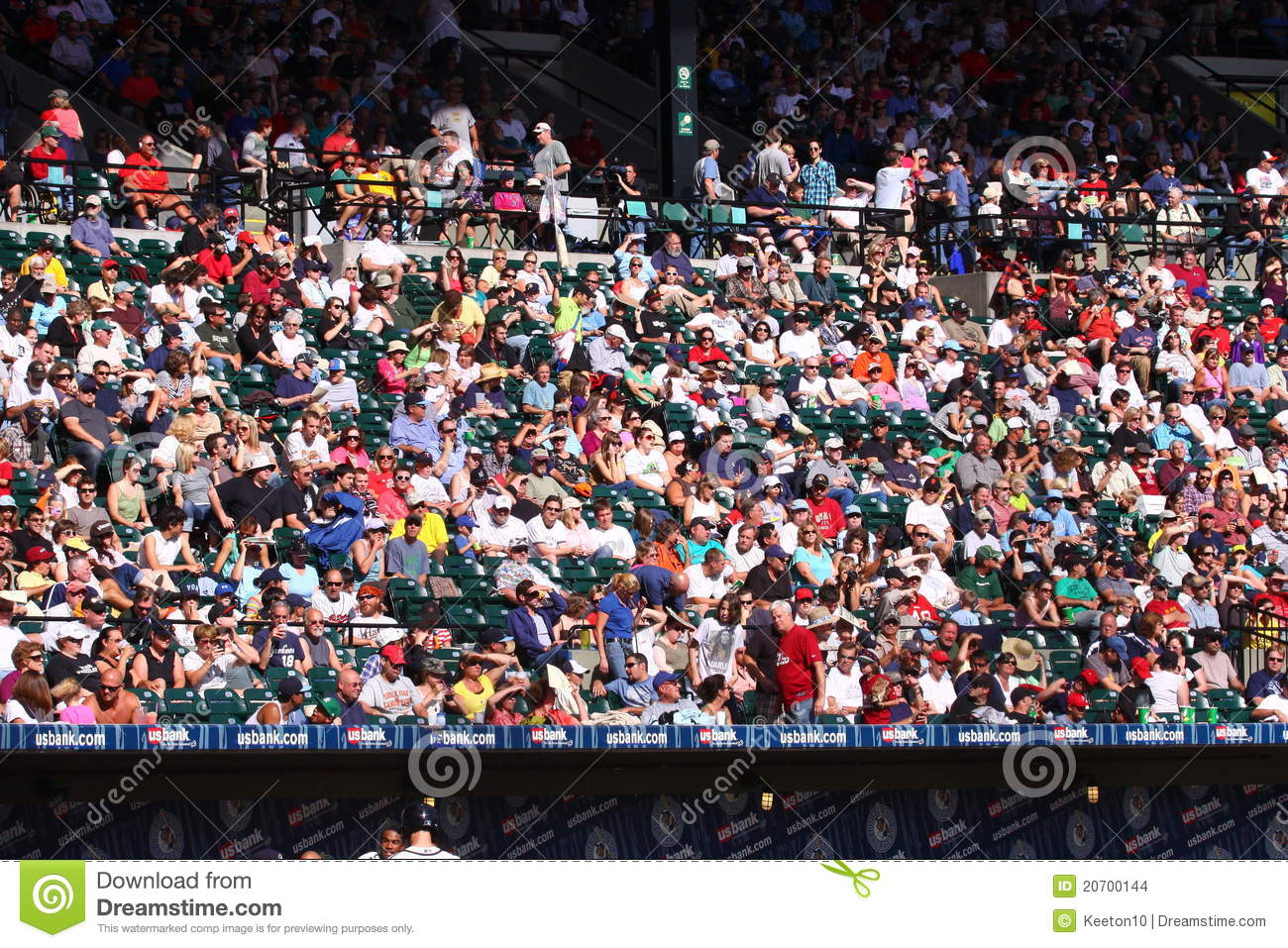 collection of stands. Audience clipart baseball