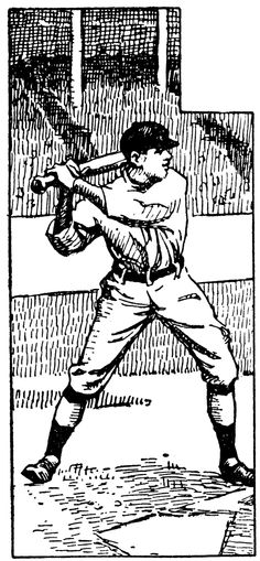 Sports image of black. Audience clipart baseball