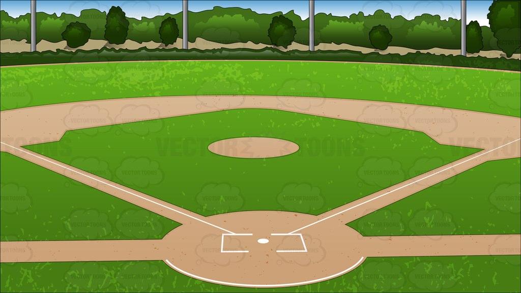 Audience clipart baseball. Diamond pics background cartoon