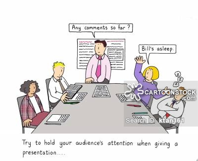 Boring meetings cartoons and. Audience clipart bored