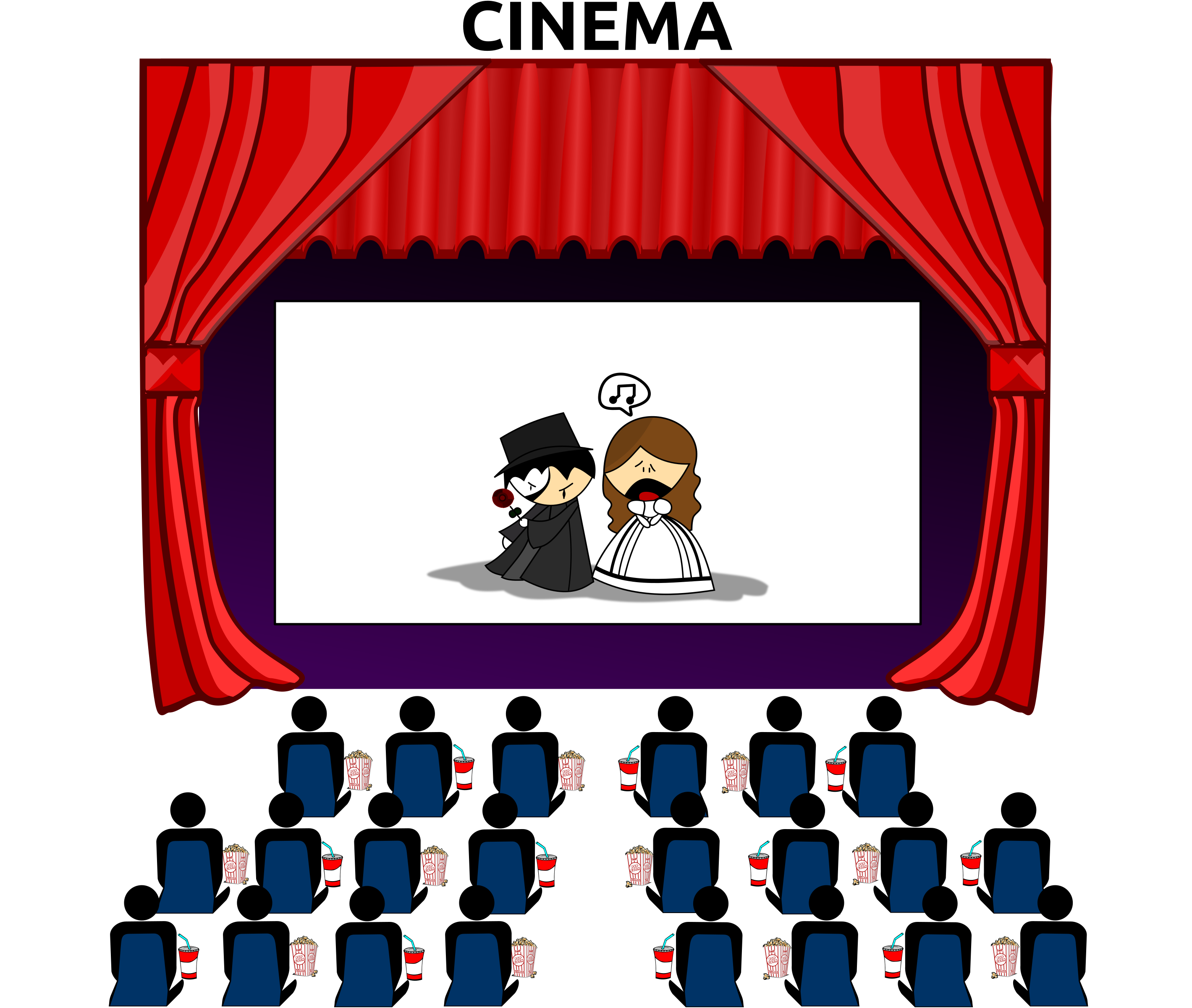 Club clipart drama movie. Cinema icons png free