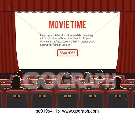 cinema clipart audiance
