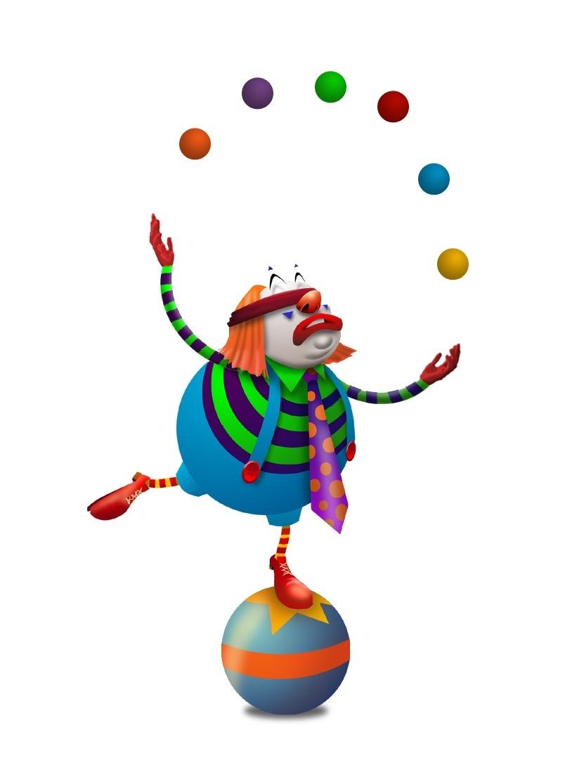 Audience clipart circus. Juggling man com