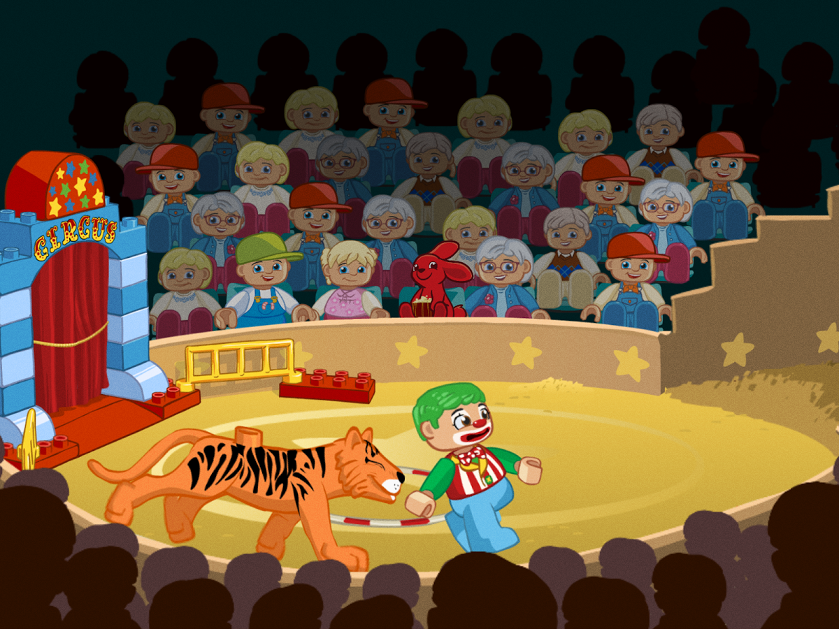 Audience clipart circus. Download lego duplo for