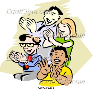 Applause clipart clap. Beautiful idea audience clapping