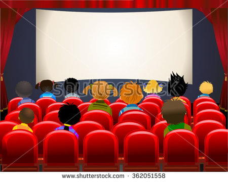 collection of movie. Cinema clipart audiance