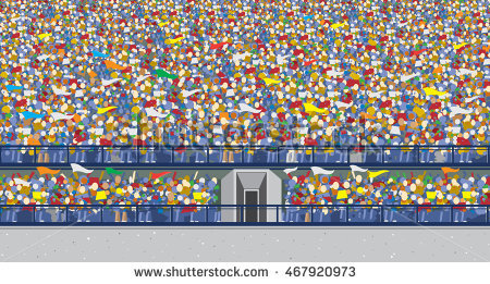 Audience clipart football.  collection of stadium
