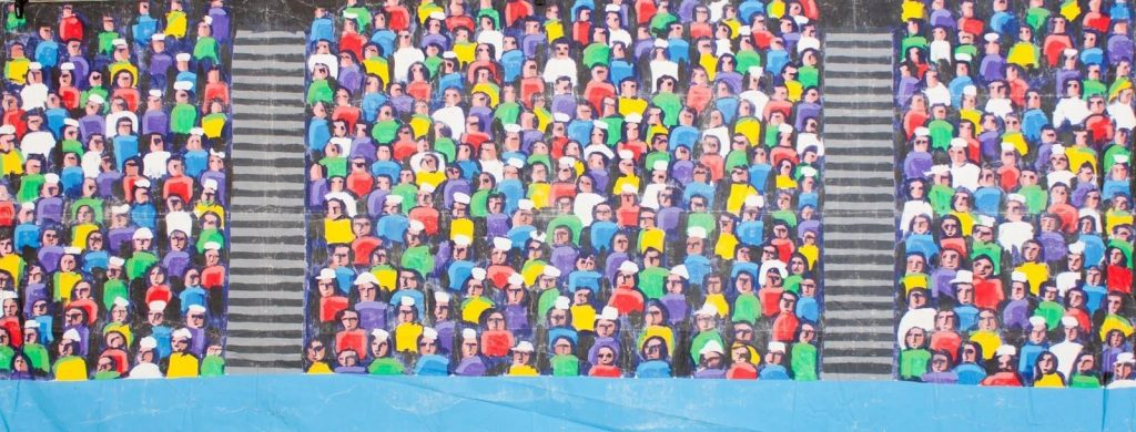 Stadium crowd clipartuse top. Audience clipart football