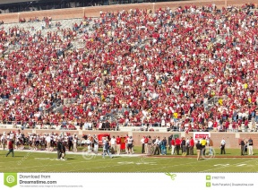 Audience clipart football. Stadium crowd large with