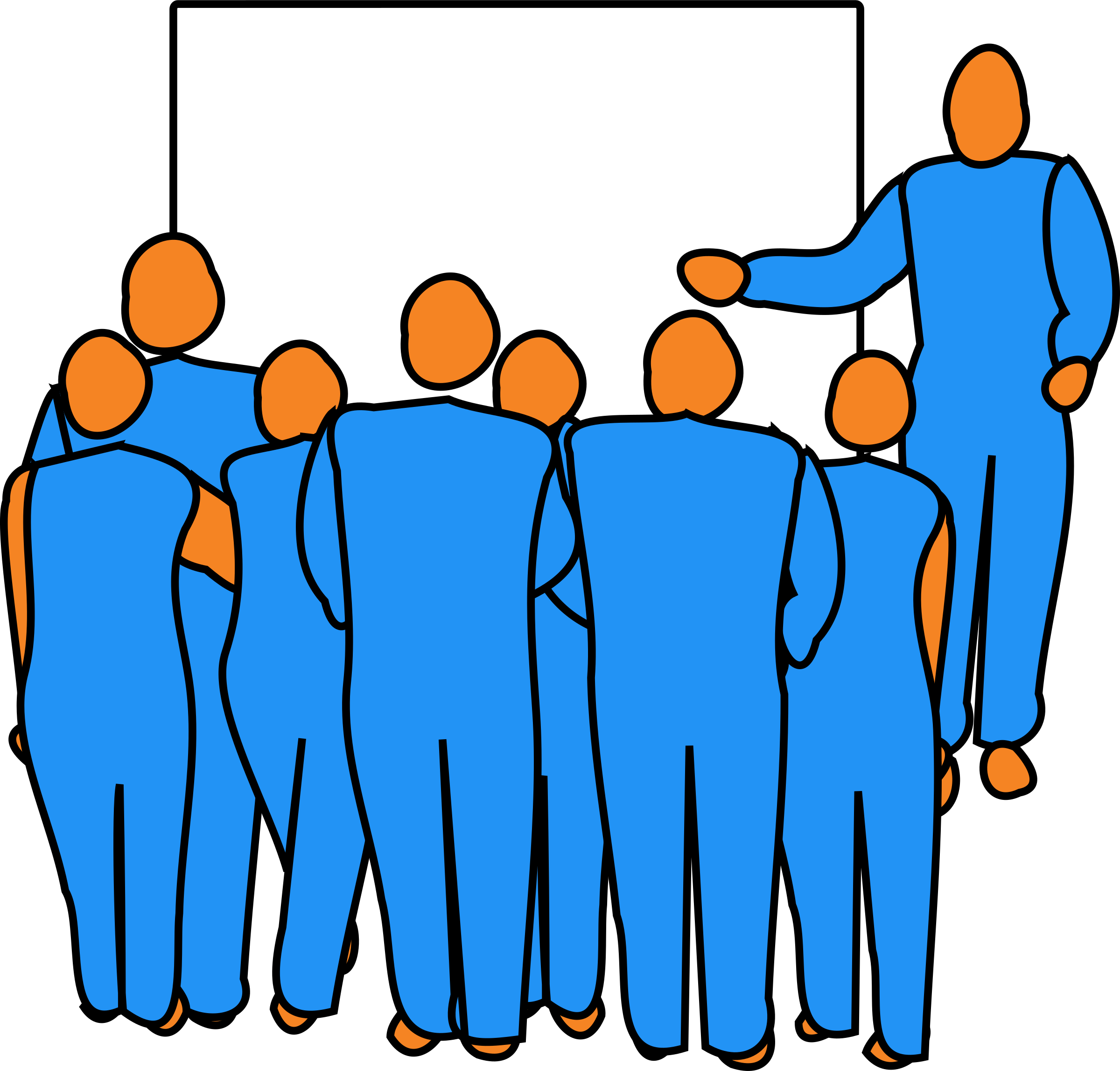 Presentation big image png. Male clipart lecturer
