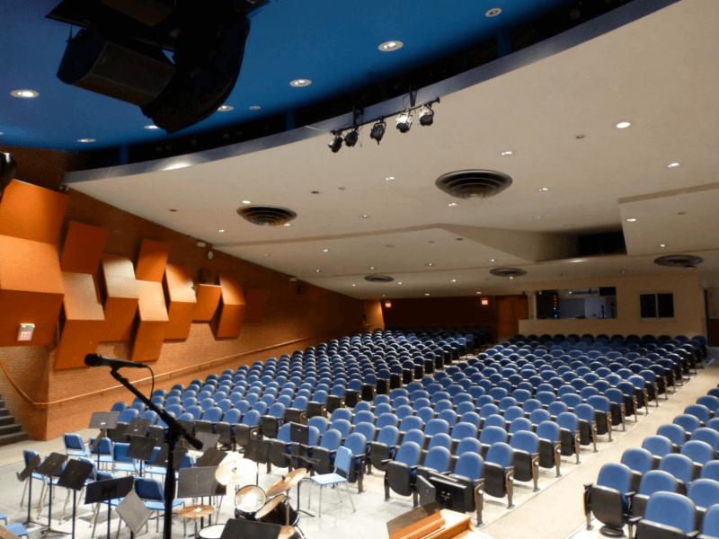 Junction city high avant. Audience clipart school auditorium