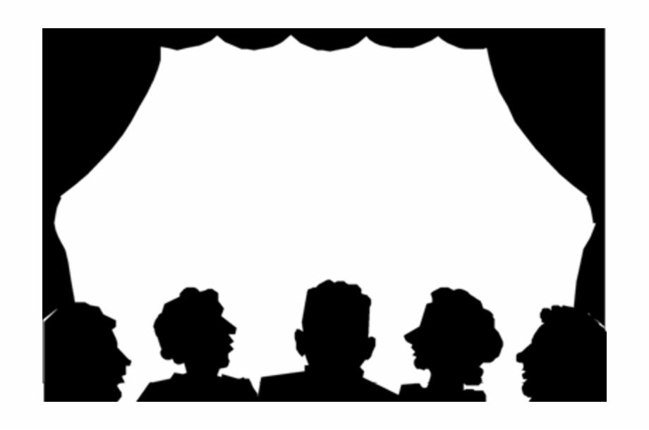 Audience theatre transparent . Cinema clipart audiance
