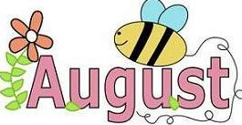 August clipart. Jpg