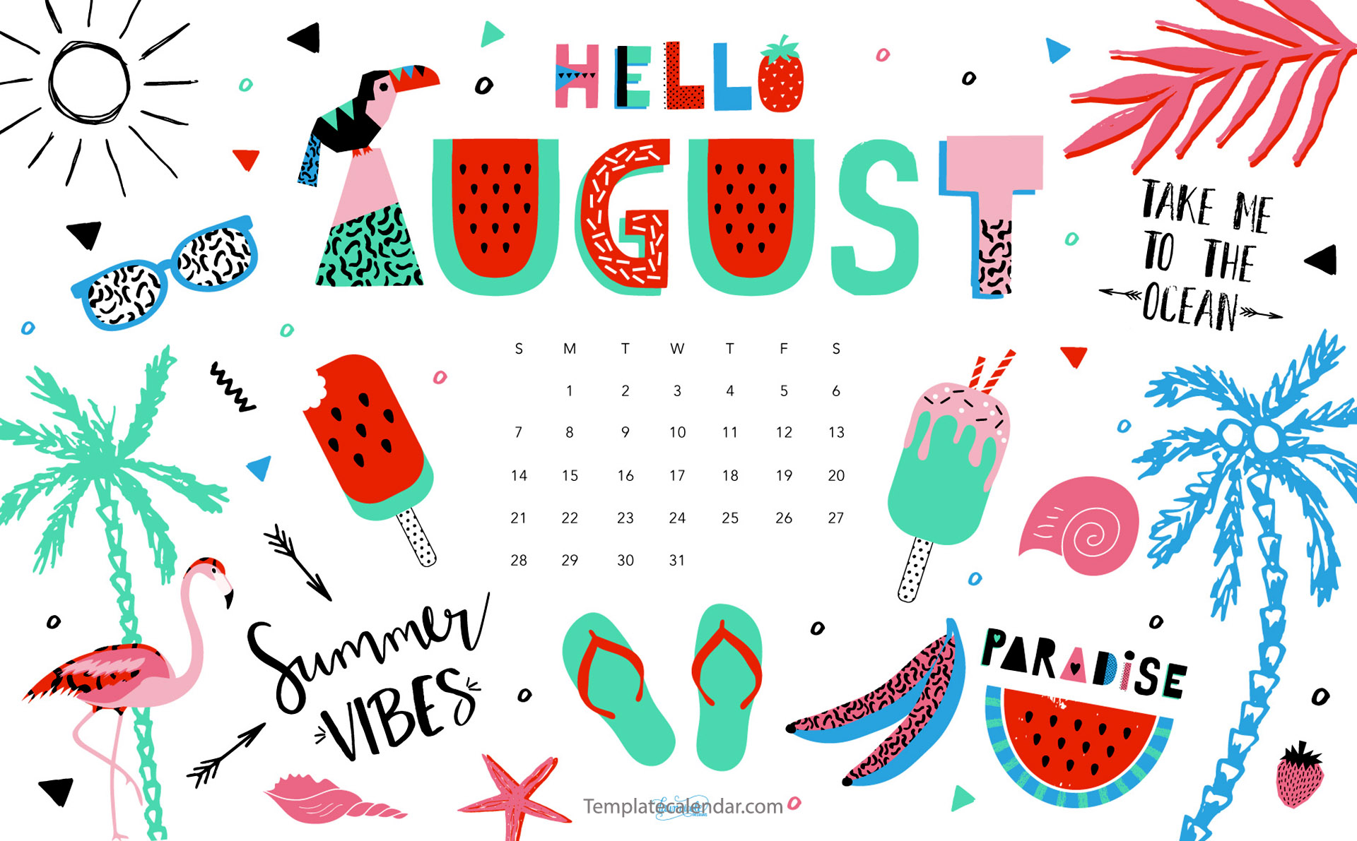 Wallpaper with calendar downloadclipart. August clipart august 2017