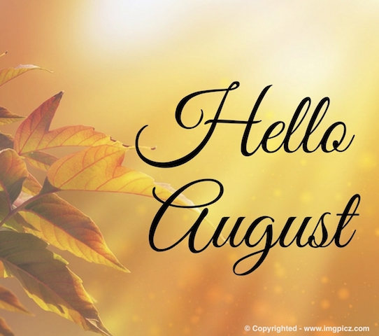 Download free hello images. August clipart august beach
