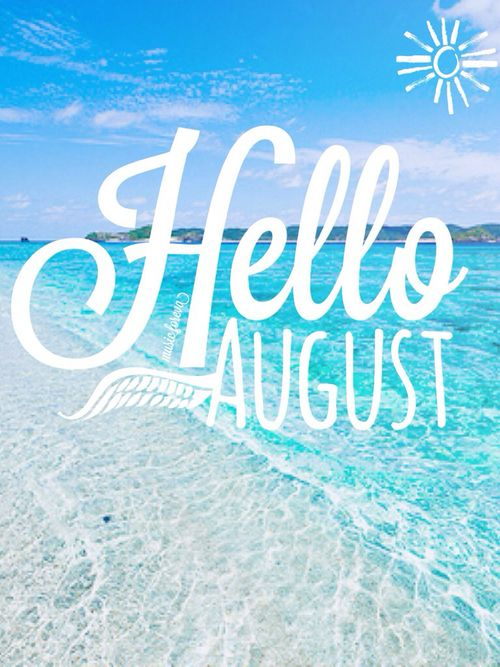 best images on. August clipart august beach