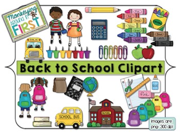 Back to school by. August clipart august september