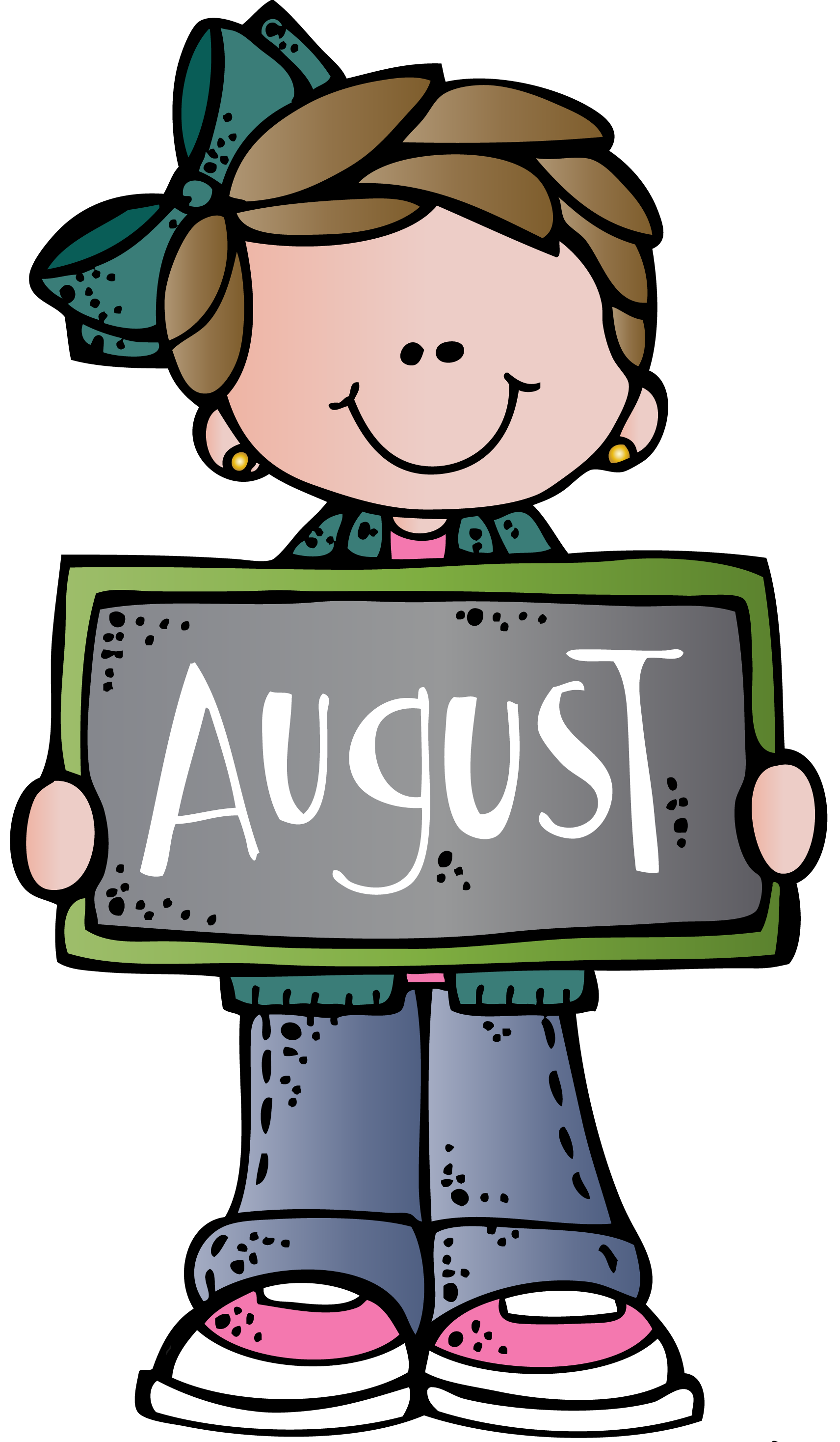 August clipart august september. To print free images