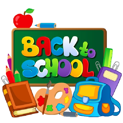 August clipart back to school. Santa rosa county schools