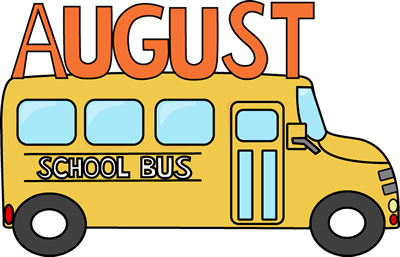 What s new moss. August clipart back to school