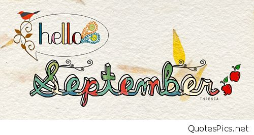 Hello september goodbye free. August clipart banner