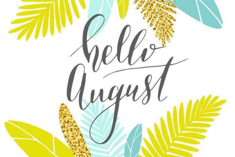 August clipart beach stuff. Top things to do