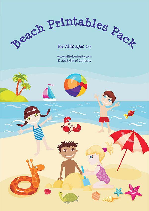 August clipart beach stuff.  best unit ideas