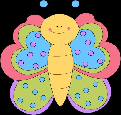 Butterfly clipart cute. Pretty clip art image