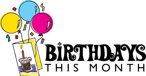 August clipart cartoon. Birthday best happy wishes