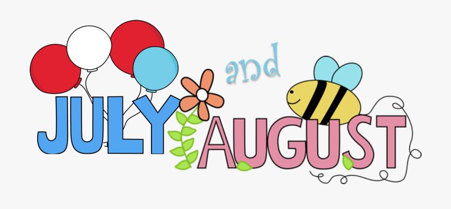 August clipart cartoon. Clip art images july