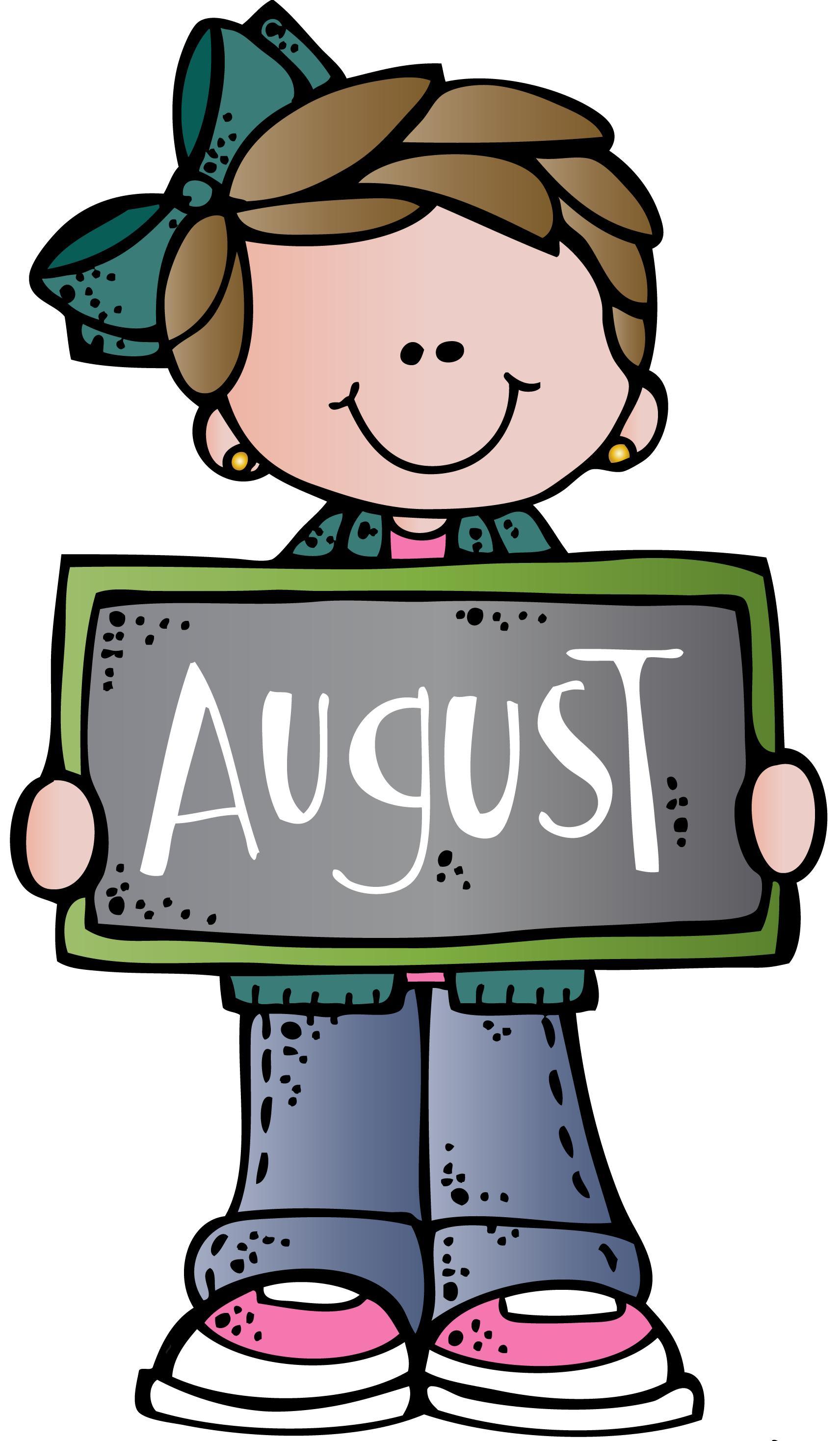 Clip art school . August clipart cartoon