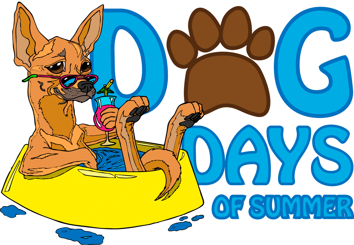 Free dog cliparts download. Pet clipart summer