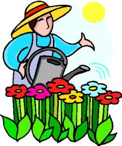 Gardener clipart garden club. August news lieutenantclipartclipartgardening