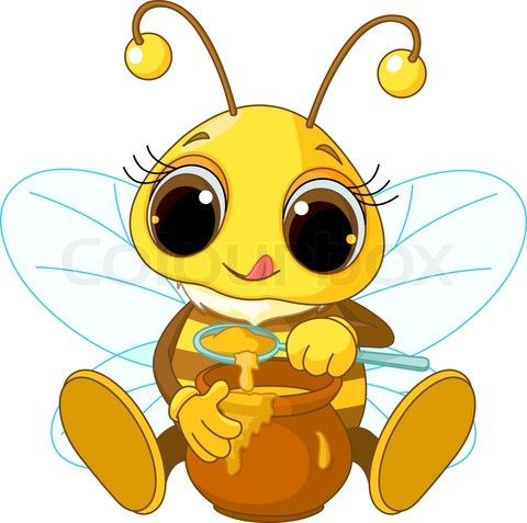 West virginia state honey. Bumblebee clipart august