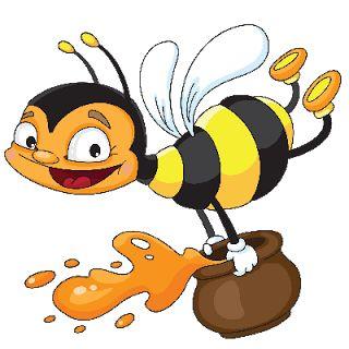 best beeabeetraveler images. Bees clipart honey bee