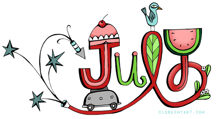 Of free download best. August clipart july month