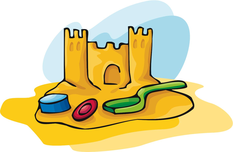 August clipart sand castle. Sandcastle wikiclipart
