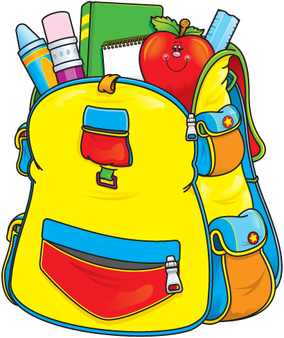 Backpack clipart school system. Panda free images augustclipart