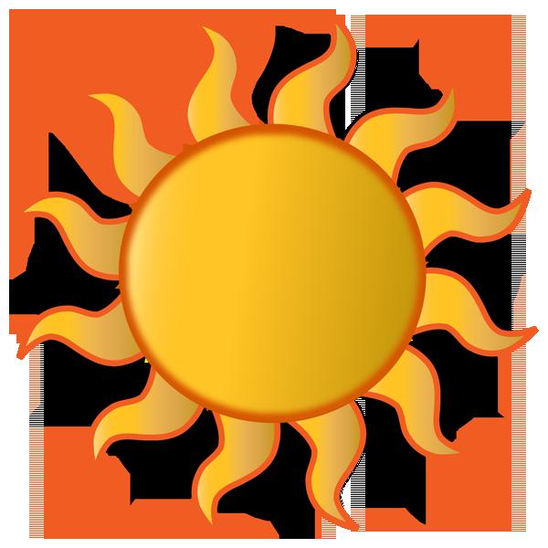 Sunny clipart object. Web design development august
